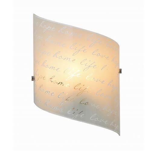 Trio international Wandlamp Signa Text 202500101 | 4017807364927