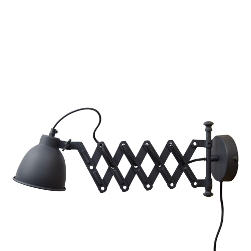 Urban Interiors Schaarlamp Harmonica vintage zwart AI-WL-2151   8719325171358