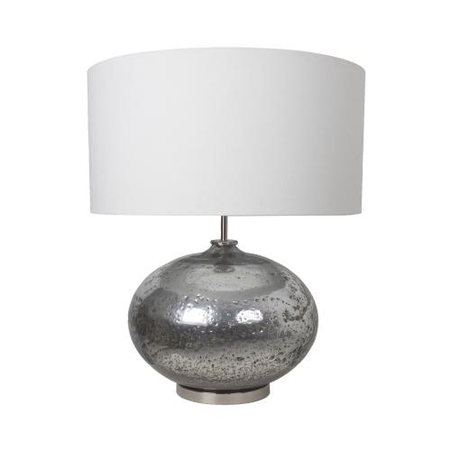 Van De Heg Tafellamp Marmore Silver 2749101 | 8712684967204