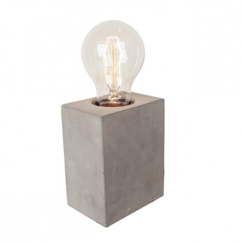 Van De Heg Tafellamp Quadro beton 234205 | 8712684947305