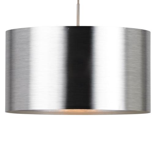 Eglo Zilvergrijze hanglamp Saganto 39352 | 9002759393526