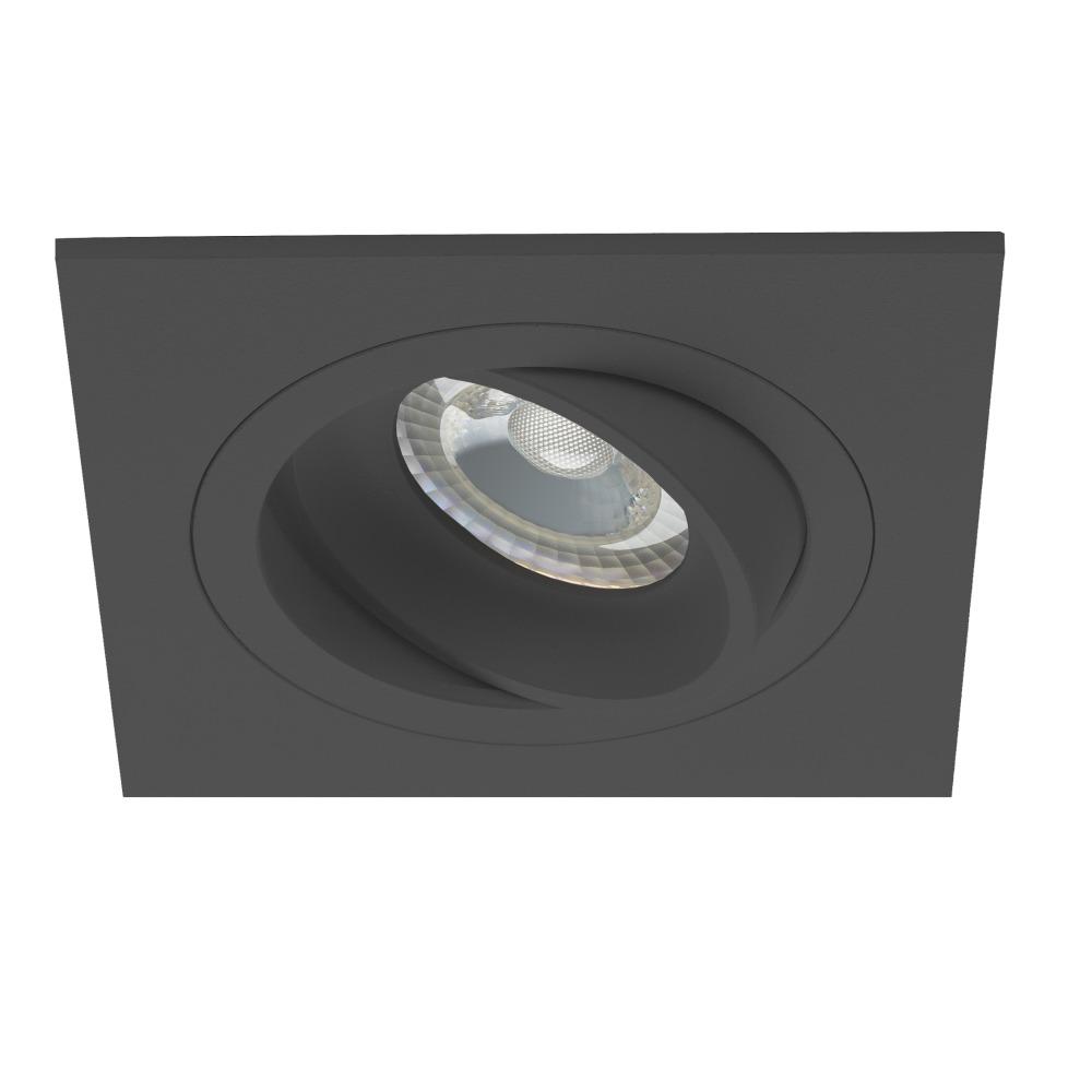 Noxion Spot Boxi Zwart   incl. GU10 Fitting   Noxion   8719157004831
