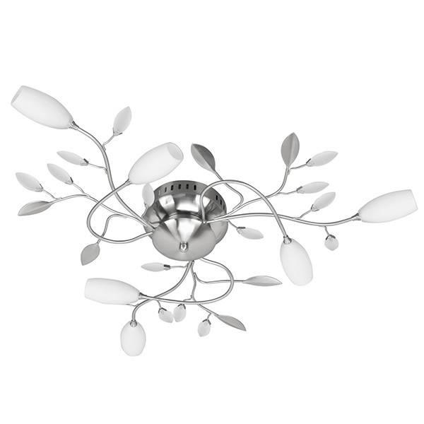 Plafondlamp Grosseto Staal 6 Lichts      8718379020919
