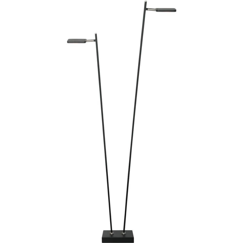 Vloerlamp Block Zwart Led 2Lichts |  | 8718444956723