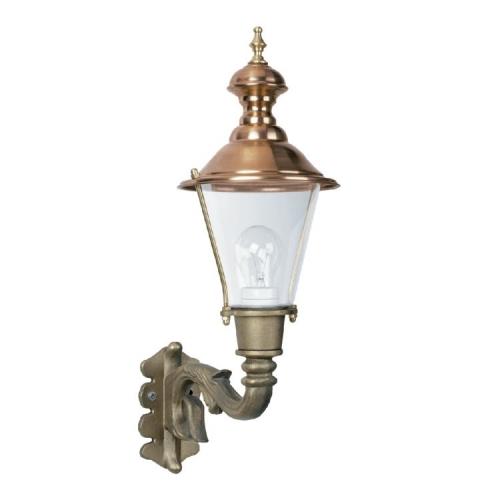 KS Verlichting Bronzen, nostalgische wandlamp Ravensburg 7241 | 8714732724104