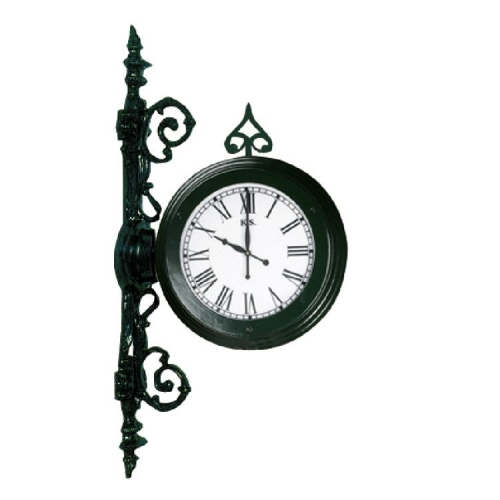 KS Verlichting Stationsklok Clock voor aan de muur 5627   8714732562706
