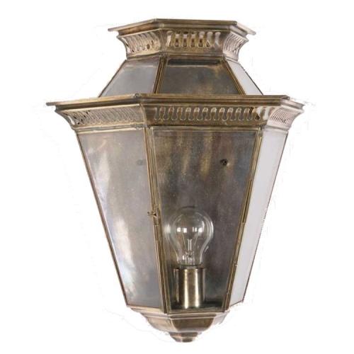 Limehouse Landelijk buitenlamp Bevelled Glass handgemaakt 413 | 8716803506831