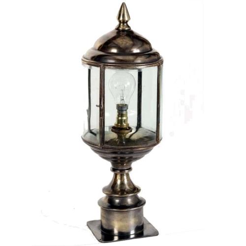Limehouse Landelijke Wentworth Short Pillar buitenlamp 471SP | 8716803506923