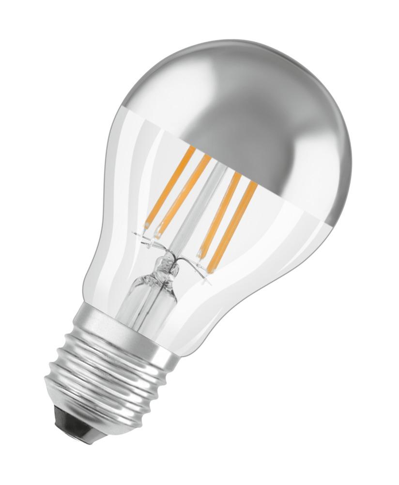Osram Parathom Classic A E27 7W 827 Filament Spiegel   Extra Warm Wit – Vervangt 51W   Osram   4058075114593