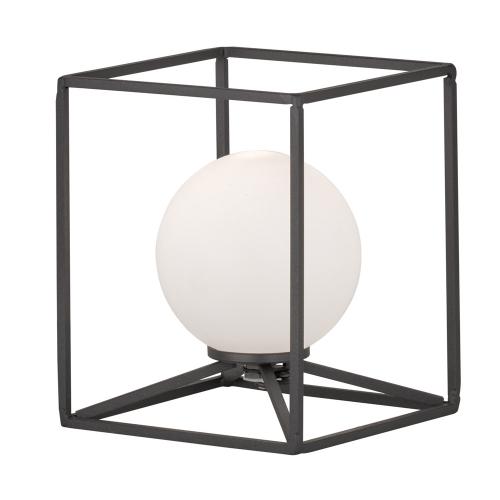 Trio international Vierkante tafellamp Gabbia R50401032   4017807387254