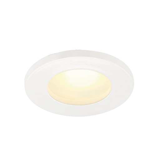 SLV – verlichting Inbouwspot Dolix Out GU10 Round voor buiten 1001165 | 4024163194822