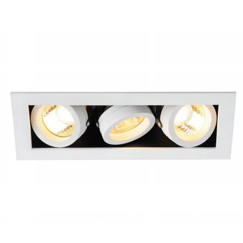 SLV – verlichting Inbouwspot Kadux 3 GU10 115531 | 4024163151511