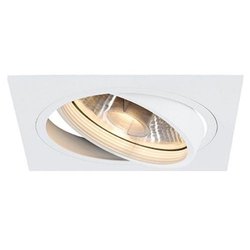 SLV – verlichting Inbouwspot New Tria ES111 1 Square 113541   4024163101806