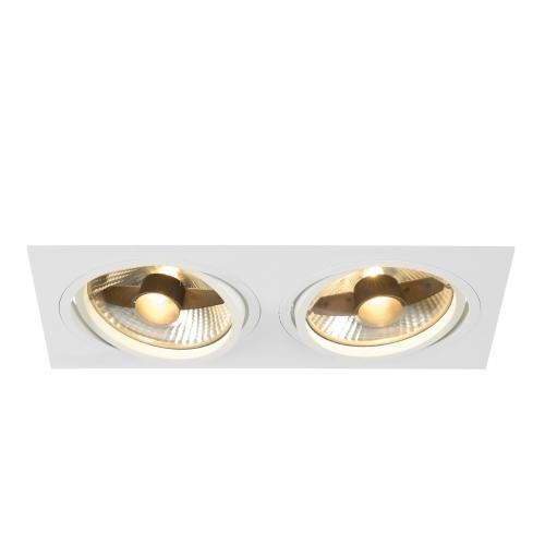 SLV – verlichting Inbouwspot New Tria ES111 met klemveren 113841 | 4024163150378