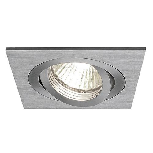 SLV – verlichting Inbouwspot New Tria GU10 met bladveren 111726 | 4024163138642