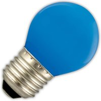 Kogellamp LED blauw 1W (vervangt 5W) grote fitting E27   8712879115236