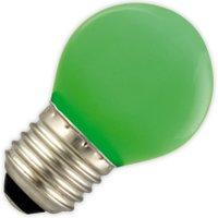 Kogellamp LED groen 1W (vervangt 5W) grote fitting E27   8712879115281