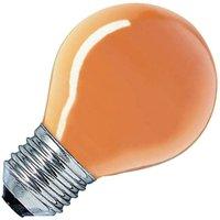 Kogel Gloeilamp oranje 15W grote fitting E27   8718309827687