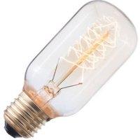 Kooldraadlamp buis goud 40W grote fitting E27 108mm | 8714681145272
