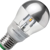 Megaman kopspiegel LED zilver 5W (vervangt 30W) grote fitting E27 | 4892657047530