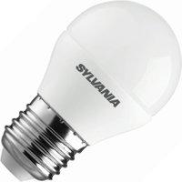 Sylvania kogellamp LED mat 6,5W (vervangt 40W) grote fitting E27 | 5410288269481