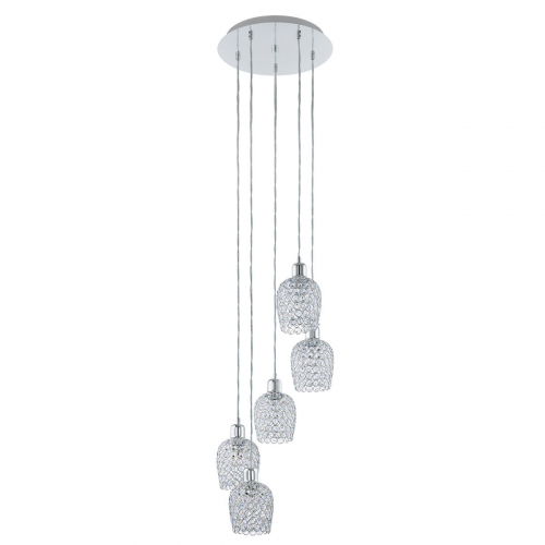 Eglo Kristallen hanglamp Bonares 1 vide 94898   9002759948986