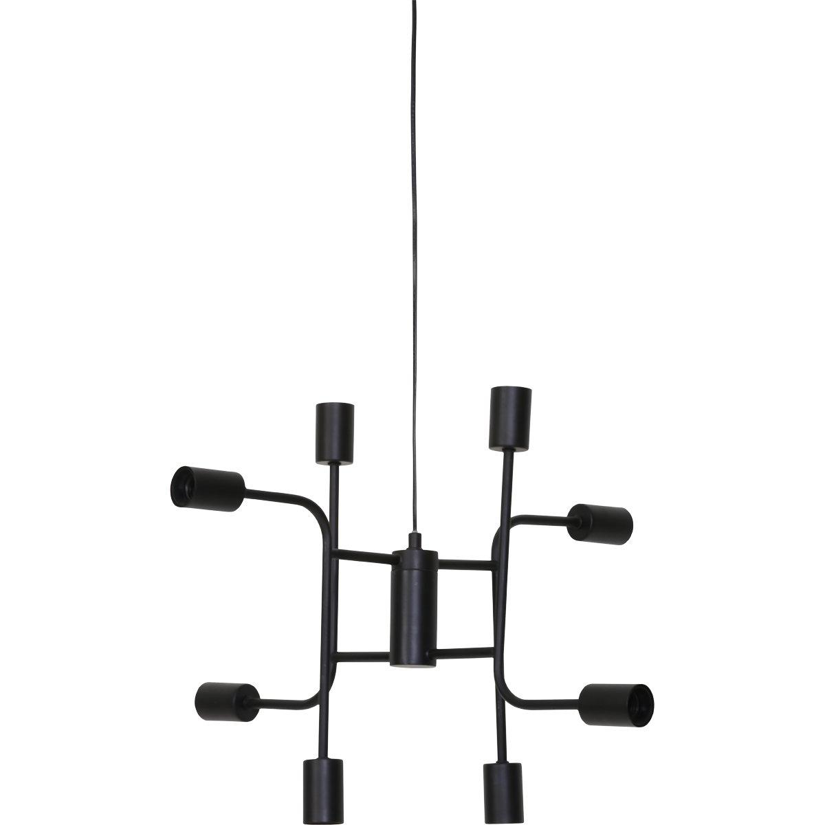 Hanglamp 8L ?60×50 cm MARINELLE zwart. | Trendhopper | 8717807190637