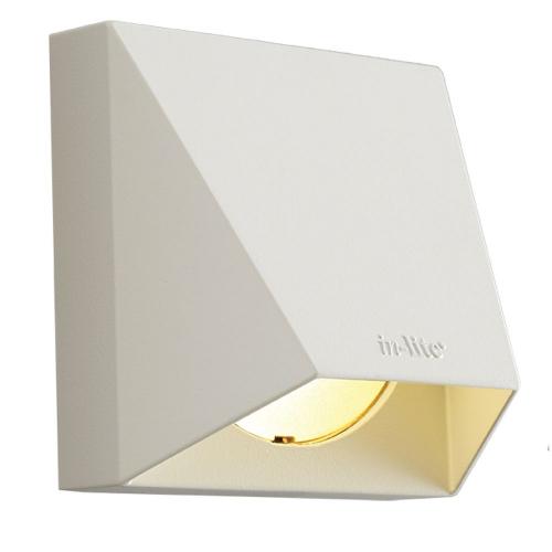 Inlite Opbouwspot Wedge White 12 volt LED 10301765 | 8717051003707
