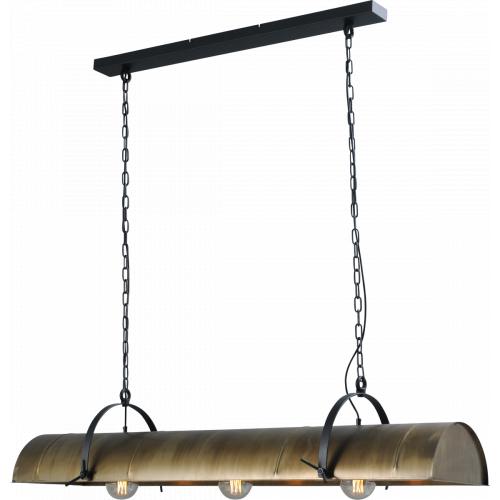 Masterlight Landelijke hanglamp Petrol 140 2167-10 | 8718121160603