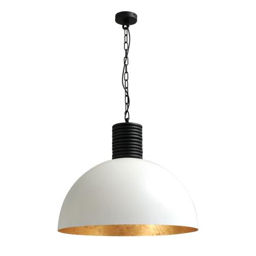 Masterlight Witte industrie hanglamp Industria Gold 60 2200-06-08-R-K | 8718121159638