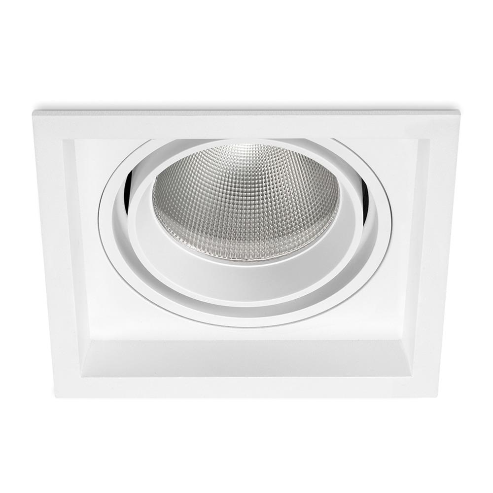 Lampdirect Magnum LED Downlight 30W 830 2400lm Wit   Warm Wit – Dali Dimbaar   Lampdirect   8434457004397