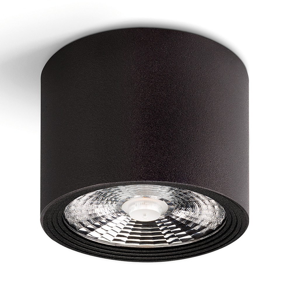Lampdirect Pukhet Opbouw LED Spot 9W 840 850Lm Zwart | Koel Wit | Lampdirect | 8434457003116