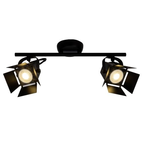 Brilliant Design plafondspot Movie Led 2-lichts G08913/76 | 4004353241703
