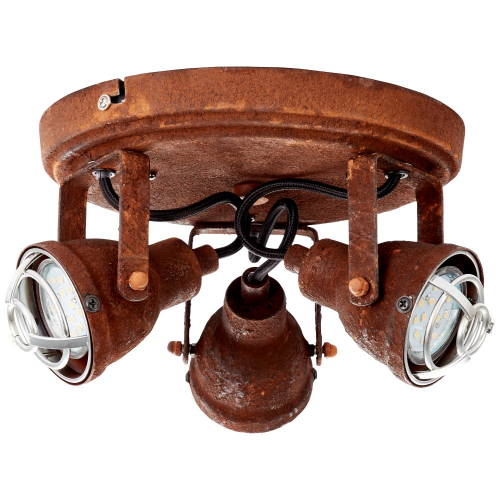 Brilliant Industriële plafondspot Bente 3-lichts 26334/60 | 4004353296499