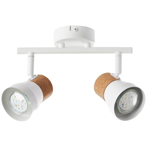 Brilliant Kurken plafondspot Moka 2-lichts 75713/75 | 4004353321160