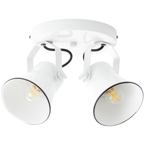 Brilliant Retro plafondspot Croft 2-lichts 82324/05 | 4004353350948