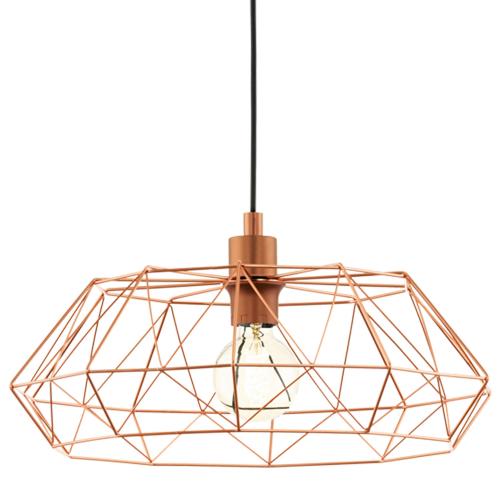 Eglo Landelijke hanglamp Carlton 2 49488 | 9002759494889