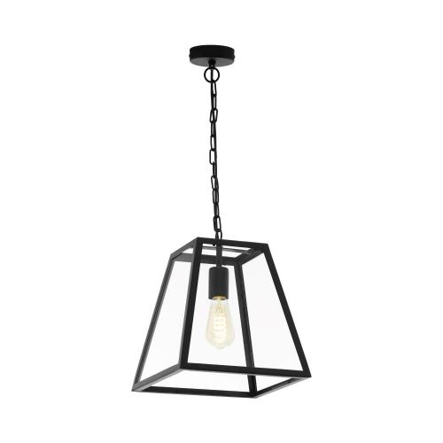 Eglo Zwarte hanglamp Amesbury 1 49882 | 9002759498825