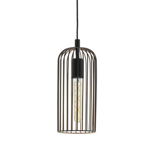 Eglo Zwarte hanglamp Roccamena 49644 | 9002759496449