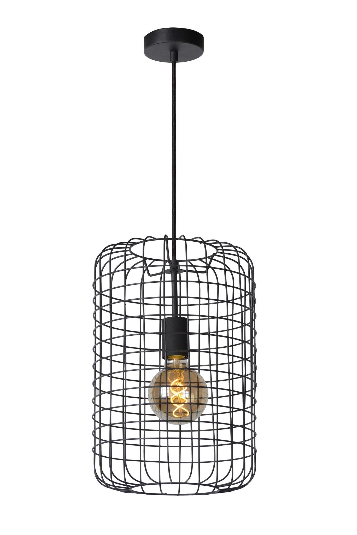 Hanglamp Esmee Zwart 26cm Ø      5411212021915