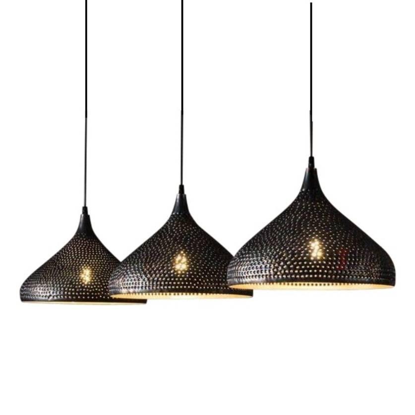 Hanglamp Trechter Vintage Black 3x32cm |  | 7061284089122