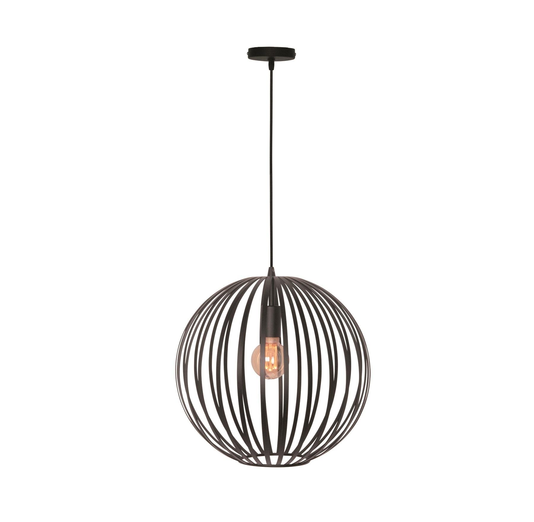 Hanglamp Tres Mat Zwart 30cm |  | 8718444959069