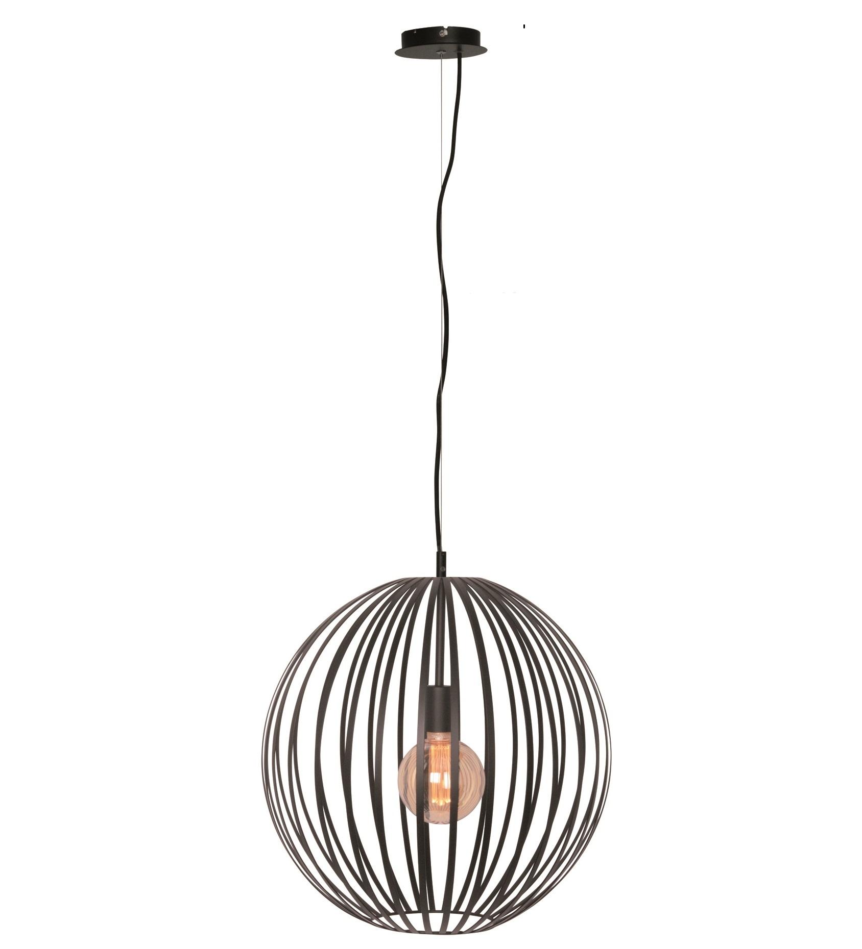 Hanglamp Tres Mat Zwart 50cm |  | 8718444959045