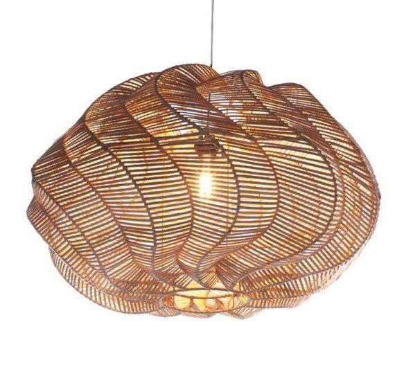 Hanglamp Twisted Rotan Naturel 70 cm |  | 7061288613668