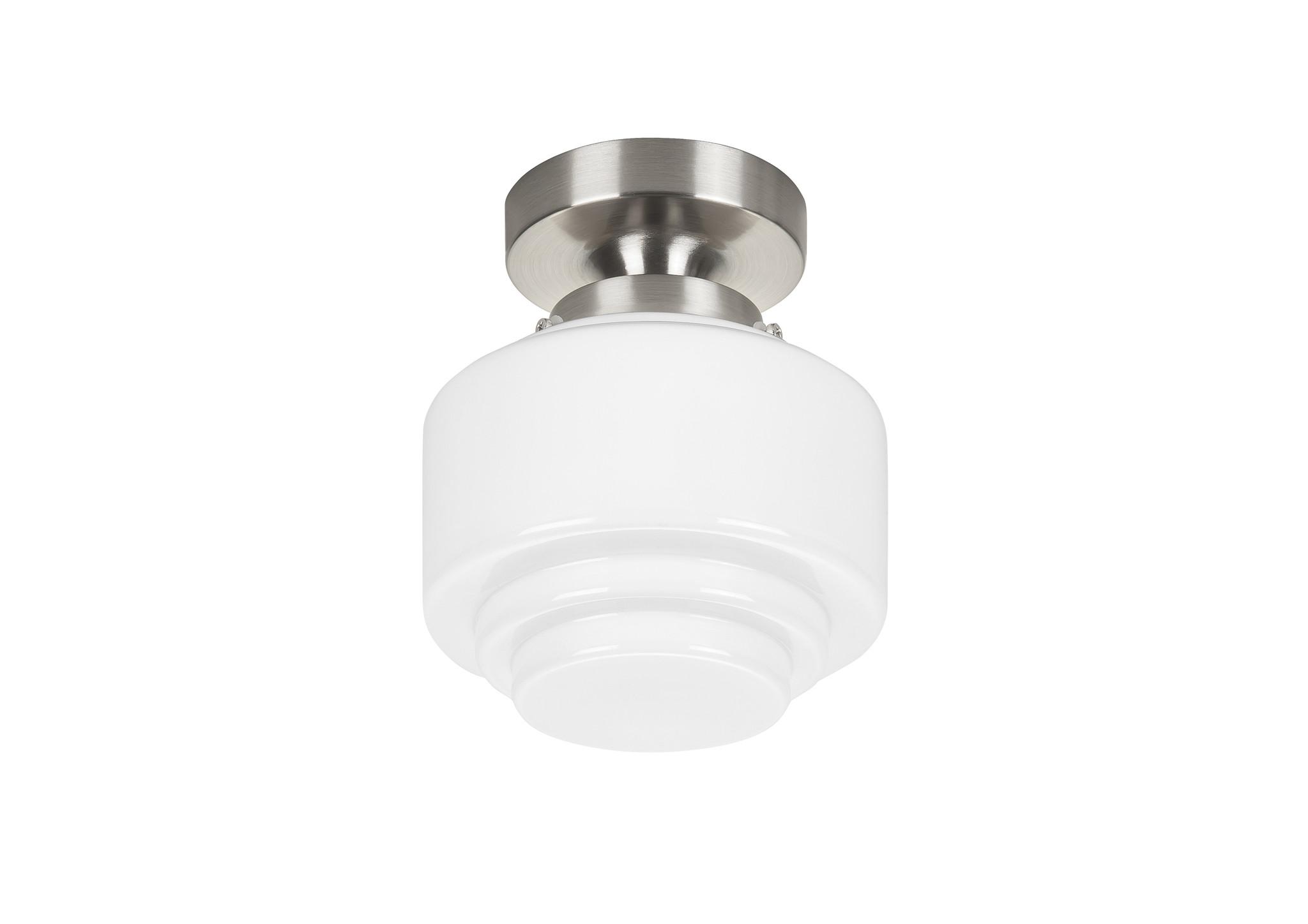 Plafondlamp Cambridge Wit Opaal Glans 15cm      8718379029622