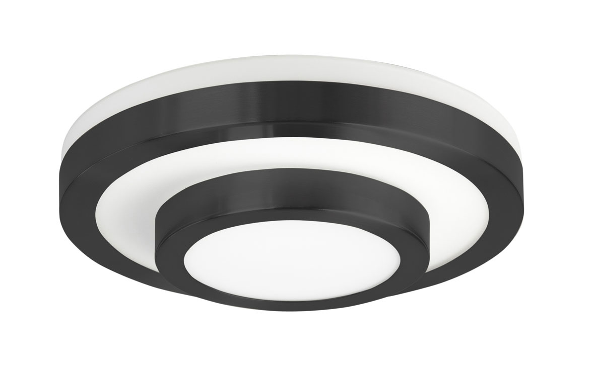 Plafondlamp Master Mat Zwart 26cm IP44 |  | 8718379034503