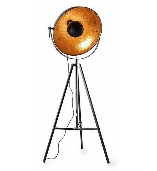 Vloerlamp Moon Zwart Goud 55cm |  | 5414585479888