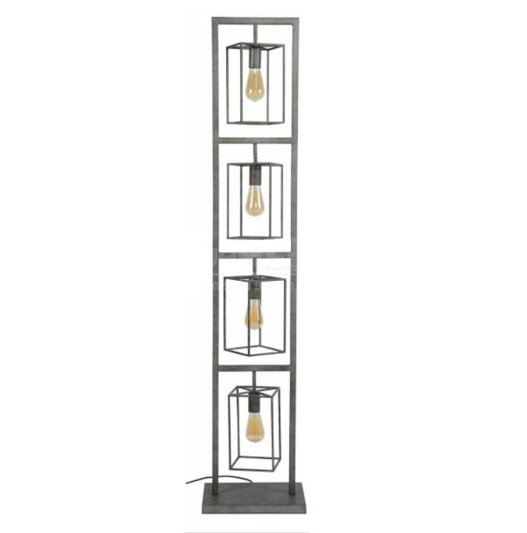 Vloerlamp Tower Old Silver 160cm |  | 7061281512104