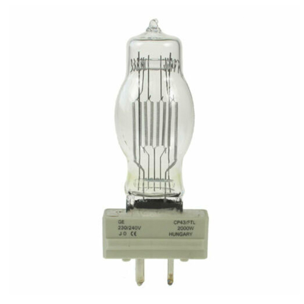 GE CP43 FTL GY16 230|240V 2000W 932 | Warm Wit | GE | 0043168885331