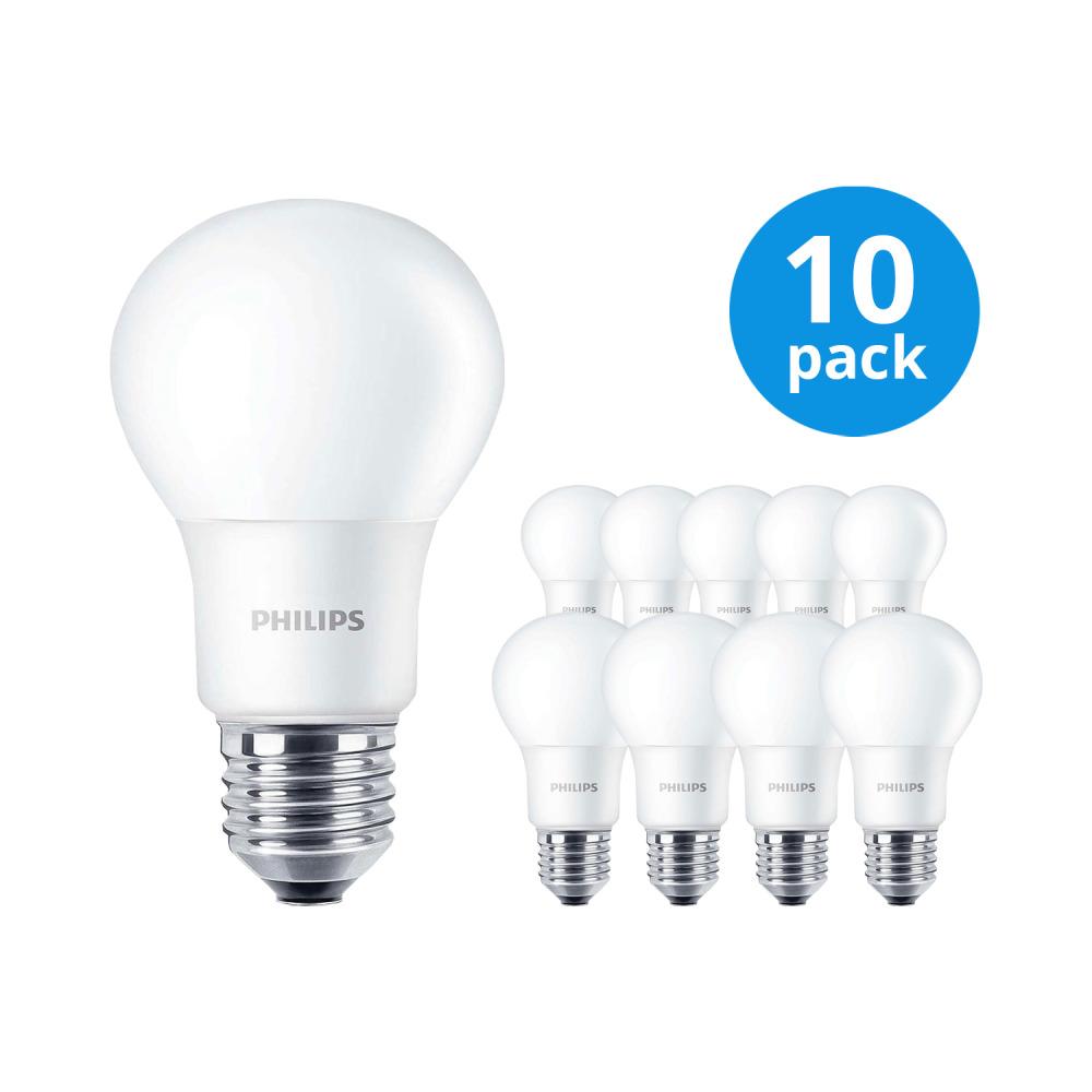 Multipack 10x Philips CorePro LEDbulb E27 A60 8W 827 Matt   Vervangt 60W   Philips   8718696577561